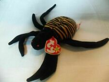New listing Ty Beanie Baby Spinner the Spider style 4036  DOB 10-28-96 MWMT Free Shipping
