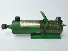 Riken Seiki On 15 2k Pneumatic Hydraulic Foot Pump 2000 Bar 29000 Psi
