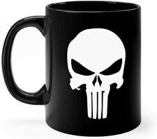 Punisher Mug 11oz Black Ceramic Mug