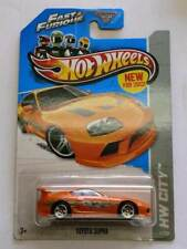 2013 Hot Wheels  Orange Toyota Supra PAUL WALKERS CAR Fast And Furious.