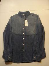 Lee One Pocket Shirt Hemd Gr. S Blue Ice *NEU*