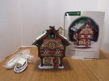 Dept. 56 Alpine Village 2001 Schwarzwalder Kuckucksuhren Cuckoo Clock Shop