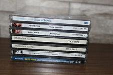 David Bowie CD Bundle x6 - Aladdin Sane Best Heroes Spiders Mars Live America