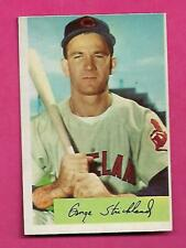 1954 BOWMAN # 36 INDIANS GEORGE STRICKLAND EX-MT CARD (INV# C3460)