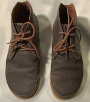 Chaco Thompson Chukka Men's Dark Gull Gray Ankle Hiking Boots Size 9.5M