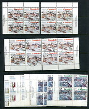 Used Canada 1974 Christmas Collection- 2 SCANS (CV $32.55) #650-653 (Lot #rn102)