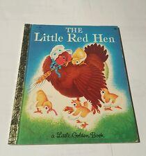 the little red hen c-519 - little golden book