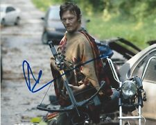 ACTOR NORMAN REEDUS SIGNED 'THE WALKING DEAD' 8x10 PHOTO A W/COA DARYL DIXON