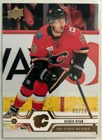 2019-20 Upper Deck High Gloss #435 Derek Ryan #6/10 Calgary Flames Rare Mint