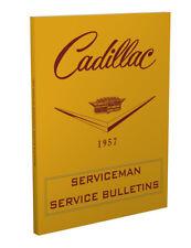 1957 Cadillac Service Bulletins Shop Manual Revisions Serviceman
