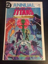 New Teen Titans Annual#1 Incredible Condition 9.2(1985) 1st Vanguard Appearence