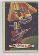 1957 Topps Space Cards #27 Fixing Meteor Damage Non-Sports Card g3e