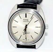 Vintage HMT Kohinoor Silver Dial 17J Mechanical Hand Winding Wrist Watch