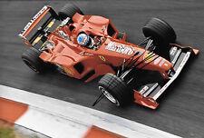Mika Salo SIGNED 12x8, F1 Scuderia Ferrari F399 ,Italian GP  Monza 1999