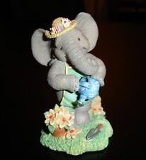 "HAMILTON COLLECTION Peanut Pals. Elephant Gardener ""Spring is Sprung"" - Unique"