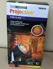 Gemmy Lightshow Halloween Fire and Ice Red/ Yellow ProjectIon Light- NEW