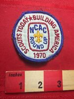 Vtg 1970 BUILDING AMERICA National Capital Area Council Boy Scout Patch 77I2