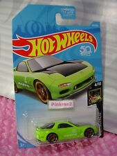 '95 MAZDA RX-7 #141 US 50✰sublime green; pr5✰NIGHTBURNERZ✰2018 Hot Wheels case G