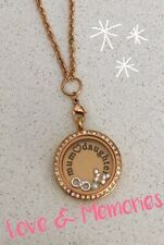Floating Memory Love Locket Charms Special Mothers Day Necklace Gift Set New
