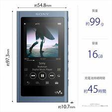 NW-A55 LED SONY Walkman A Serie 16GB Bluetooth MICROSD Azul 2018 De Japón