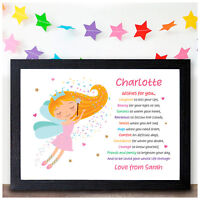 Personalised FAIRY Gifts for Girls Daughter Granddaughter Christmas Xmas Present