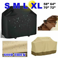 S/M/L/XL Upgrade BBQ Grill Cover Thick Waterproof Outdoor Gas Barbecue Protector