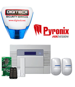 PYRONIX HIKVISION WIFI WIRELESS INTRUDER ALARM SYSTEM PHONE APP PET LCD KIT