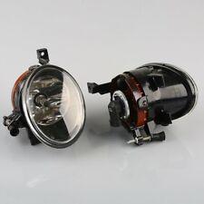 AU Pair Front Bumper Convex Lens Fog Lights Lamps For VW Golf Jetta MK6 Tiguan