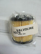 NEW Genuine Valvoline Oil Filter VO76 Ref P1439 P552441 LF511 T-51 P3244 7082