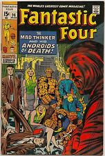 Fantastic Four #96 (Marvel 1970) FN/VF-: The Mad Thinker and android doubles