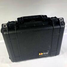 "Genuine Pelican Hard Case 1450 Camera Travel Storage w/ Foam 16 1/2"" x 12"" x 7"""