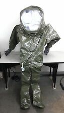 DTAPS Level A Totally-Encapsulating Suit Size Large Model 10-100 Tychem LV