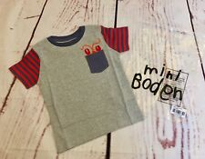 Mini Boden Boys **NEW**Lobster Short Sleeved Summer Shirt/2-Years/ADORABLE/BODEN