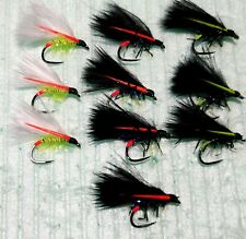 10  SMALL Cormorant BARBLESS  Trout Flies Size 12 COMPETITION
