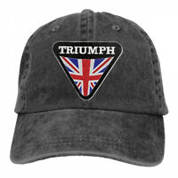 Triumph Motorcycle Logo Cowboys Adjustable Cap Snapback Baseball Hat