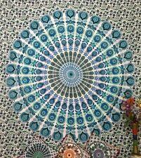 Indian Mandala Bedding Queen Bedspread Hippie Art Bohemian Wall Hanging Tapestry