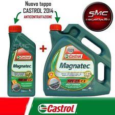 5 litri CASTROL MAGNATEC 5w-40 c3 olio motore 5w40 OPEL BMW ll-04 MB 229.51 AUDI