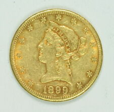 1899 S $10 Dollar Gold Liberty Head US Mint Eagle Coin