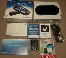 Sony PS Playstation Vita Slim Konsole WiFi PCH-2003 64gb + 1019 Vita Spiele 3.60