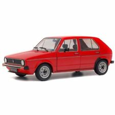 SOLIDO 1:18 AUTO DIE CAST VOLKSWAGEN GOLF L 1984 RED MARS ROSSO ART S1800204