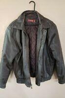 Phase 2 Mens Leather Coat Size Medium