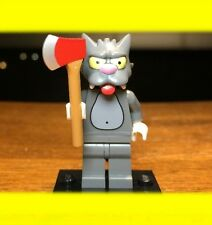 LEGO THE SIMPSONS SERIES 1 SCRATCHY w/ AXE GENUINE AUTHENTIC MINIFIGURE 71005