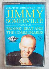 1990 MUSICASSETTA DI JIMMY SOMERVILLE '1984/1990 GREATEST HITS' BRONSKI BEAT