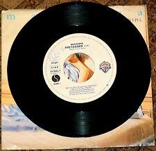 "MADONNA MATERIAL GIRL PRETENDER MADE IN ITALY 7"" VINYL 1985 RARE 45 giri/rpm"