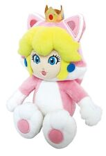 "New Little Buddy USA 10"" Cat Peach Stuffed Plush Doll Toy From Super Mario Bros!"