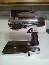 VINTAGE SUNBEAM MIXMASTER MODEL 1008685 STAND/HAND MIXER CHROME
