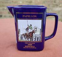 "Martell ""Grand National Winner 2000 - Papillon  Water Jug"