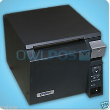 Epson Tm T70 Pos Thermal Receipt Usb Printer M225a Dark Gray Autocut Refurbished