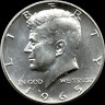 "A 1965 P Kennedy Half Dollar 40% SILVER US Mint ""About Uncirculated"""