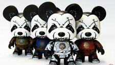 "Toy2r Lot of 2 LE300 5"" Blue & 5"" Brown PANDAimyo Bears John-Paul Kaiser MiniQee"